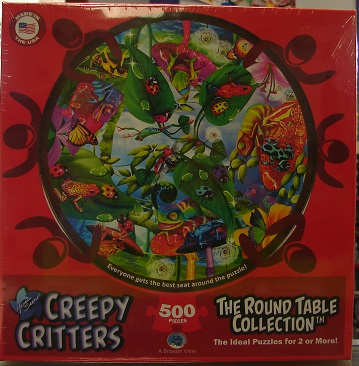 Round Table Creepy Critters 500