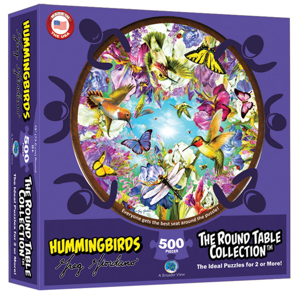 Round Table Hummingbirds 500