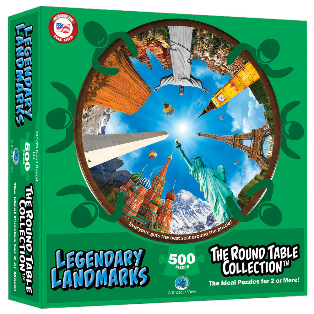 Round Table Legendary Landmarks 500