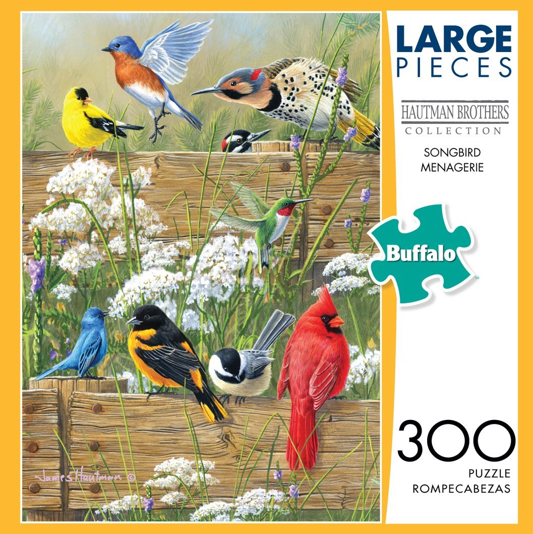 Songbird Menagerie 1000 - Click Image to Close