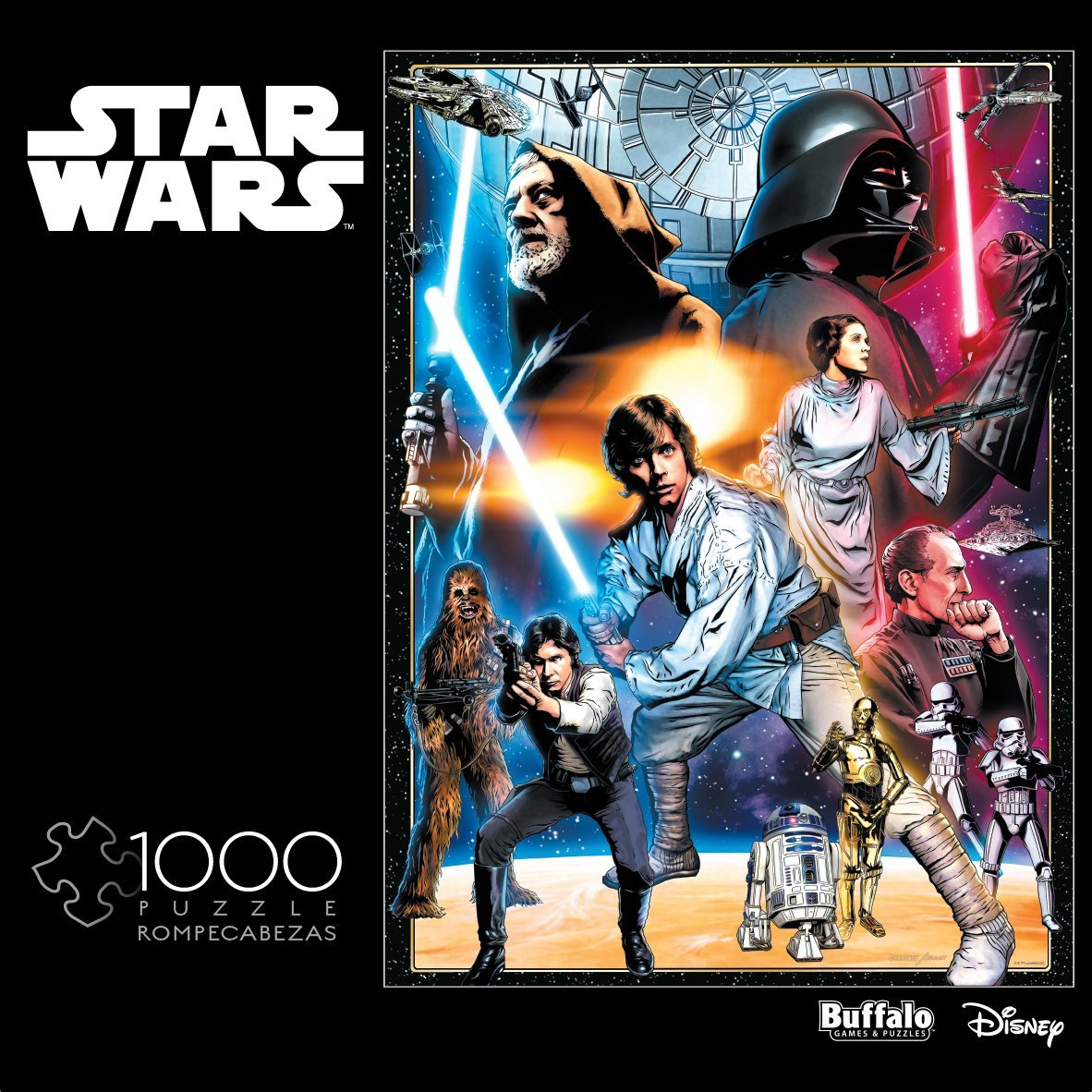 Star Wars Assortment: The Circle Is Now Complete 1000