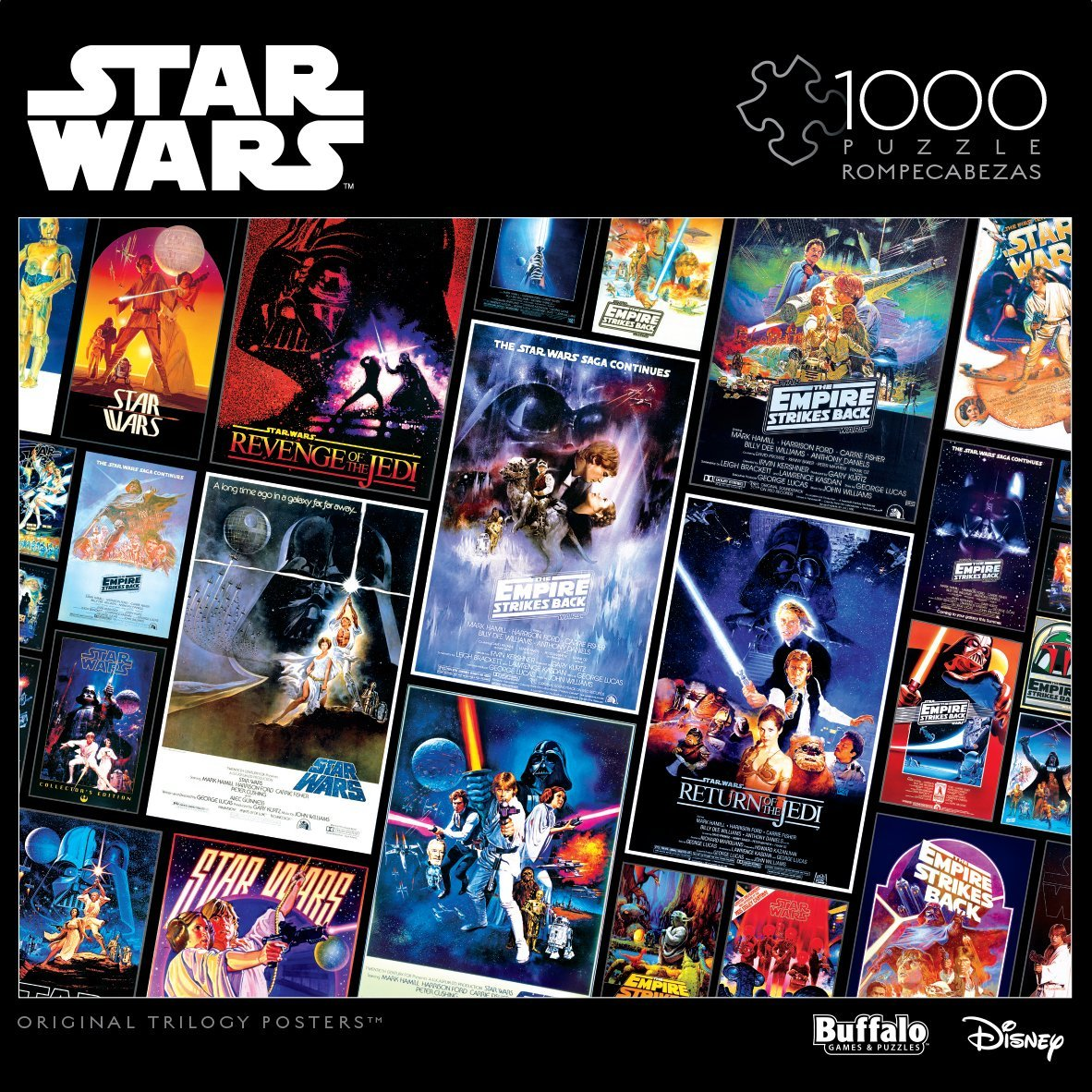 Star Wars Assortment: The Original Trilogy Posters 1000