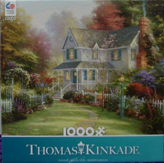 Thomas Kinkade Blue 1000