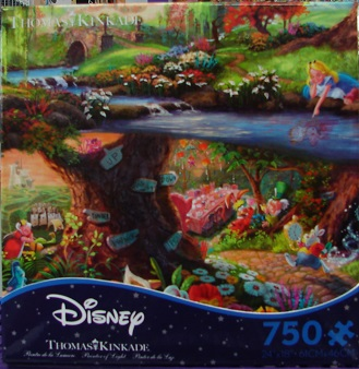 Thomas Kinkade Disney Blue 750