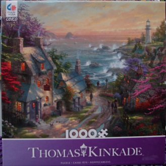Thomas Kinkade Purple 1000