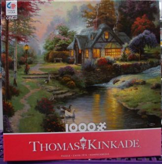 Thomas Kinkade Red 1000