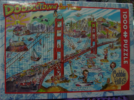 Doodletown San Francisco 1000 - Click Image to Close