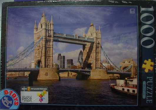 Famous Places: Tower Bridge 1000