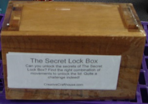 Secret Lock Box