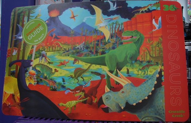 2-Sided Dinosaurs Placemat