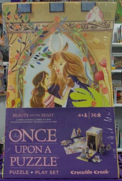 Once Upon A Puzzle Beauty And The Beast