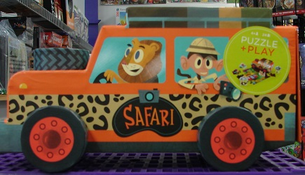 Puzzle & Play Set Safari