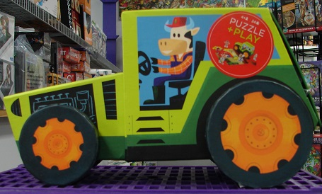 Puzzle & Play Set Tractor
