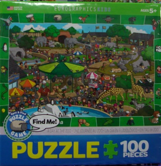 Find Me Zoo 100