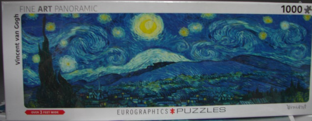 Starry Night Panoramic 1000