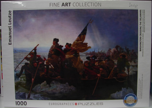 Washington Crossing The Delaware 1000