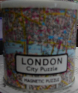 London Magnetic City Puzzle 100