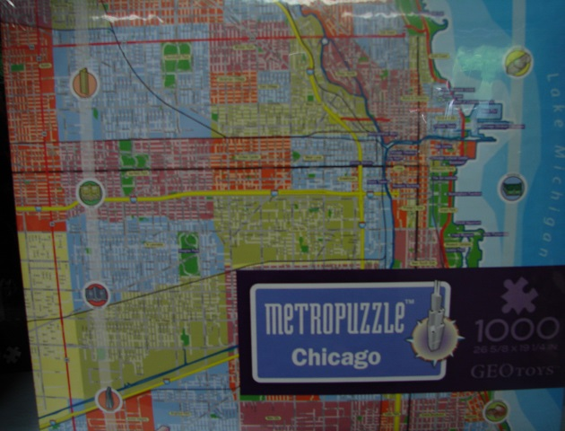 MetroPuzzle Chicago 1000 - Click Image to Close