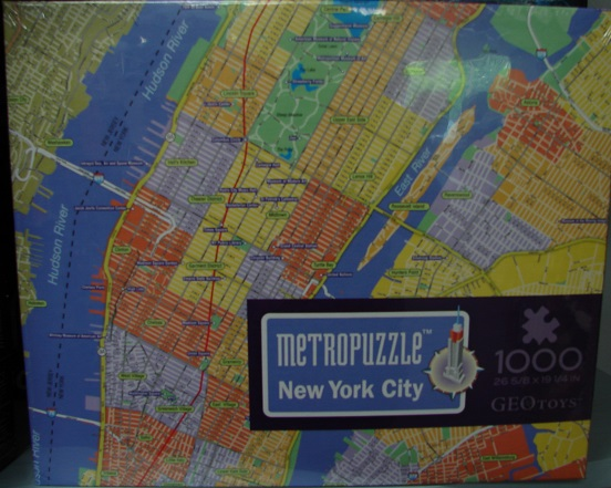 MetroPuzzle New York City 1000