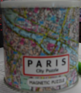 Paris Magnetic City Puzzle 100