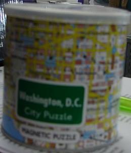 Washington DC Magnetic City Puzzle 100