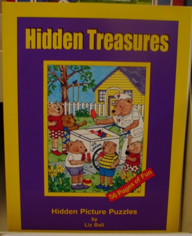 Hidden Treasures Hidden Picture Puzzles