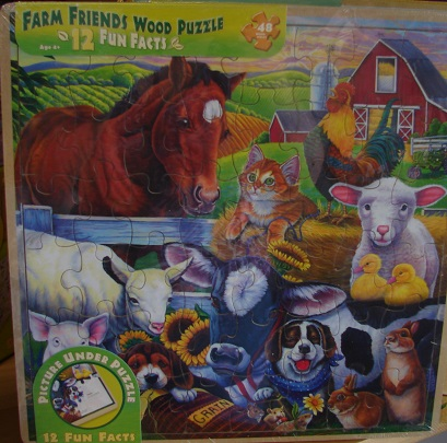 Farm Friends Wooden 48