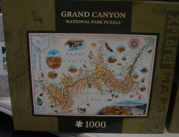 Grand Canyon Map 1000
