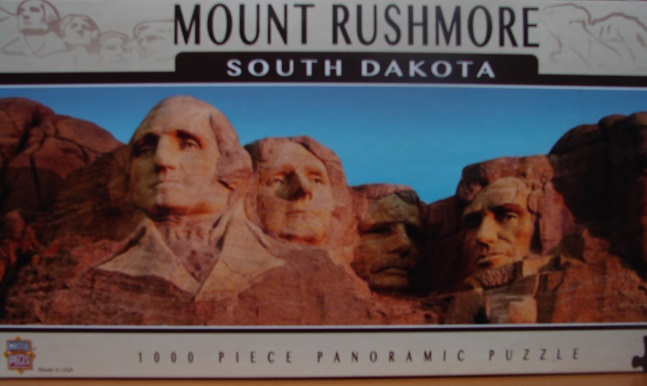 Mount Rushmore Panoramic 1000