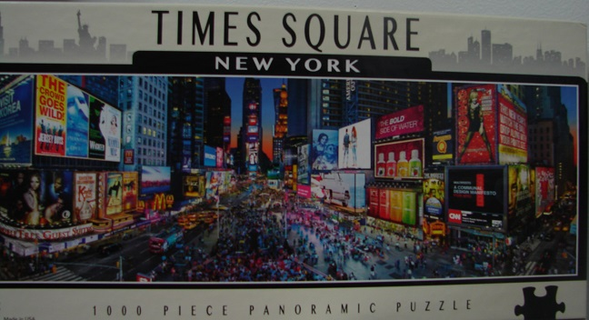 Times Square Panoramic 1000