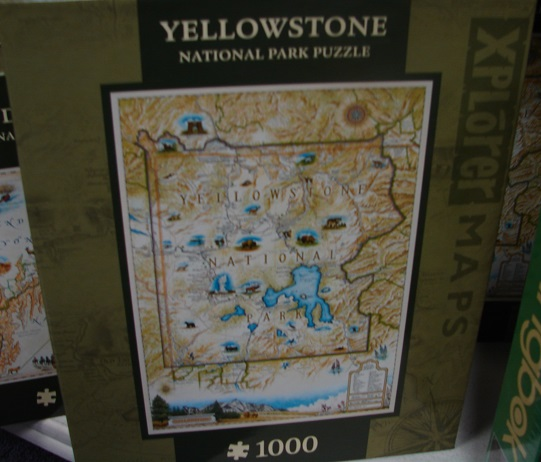 Yellowstone Map 1000