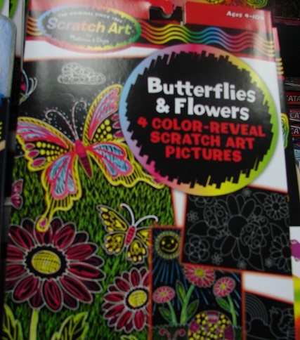 Color Reveal Butterflies Flowers