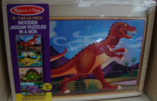 Dinosaurs Puzzle In A Box