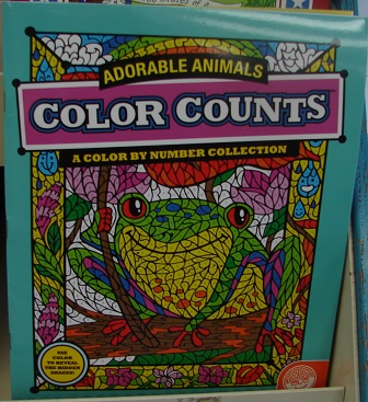 Color Counts Adorable Animals