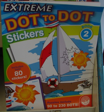Extreme Dot to Dot Stickers Book 2