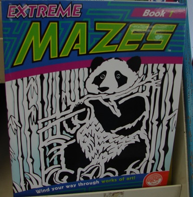 Extreme Mazes Book 1 - Click Image to Close