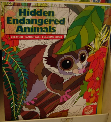 Hidden Endangered Animals Coloring