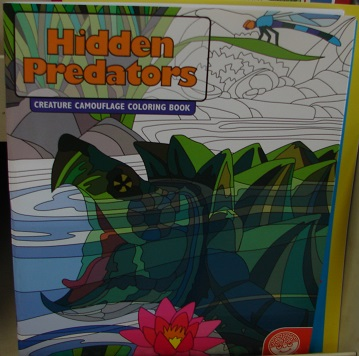 Hidden Predators Coloring