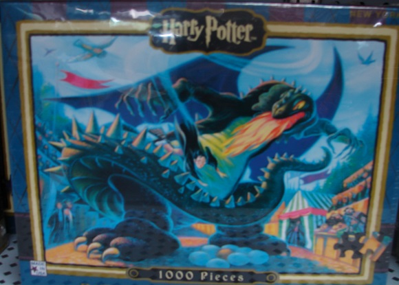 Harry Potter Battle Of The Dragon 1000 Piece