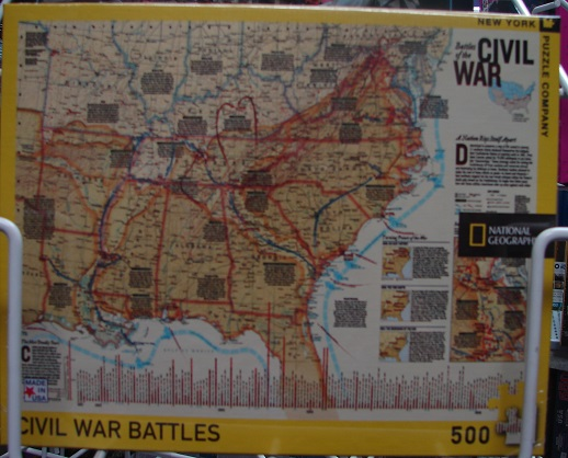 Battles Of Civil War 500 Piece