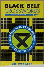 Black Belt Crosswords Martial Arts Crosswords Super Tough