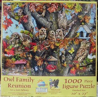 Owl Family Reunion 1000