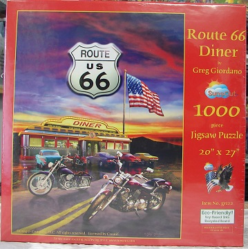 Route 66 Diner 1000
