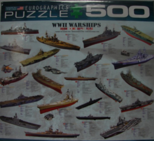 WWII Warships 1000