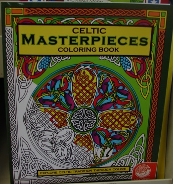 Celtic Masterpieces Coloring